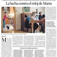 Noticia publicada en La Vanguardia